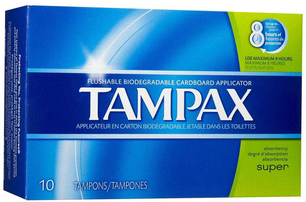 TAMPAX 10 CT